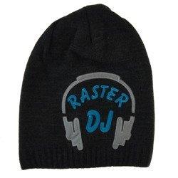 Czapka dziecięca DJ Raster Grafit