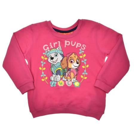 Bluza dziecięca Psi Patrol dla dziewczynki różowa