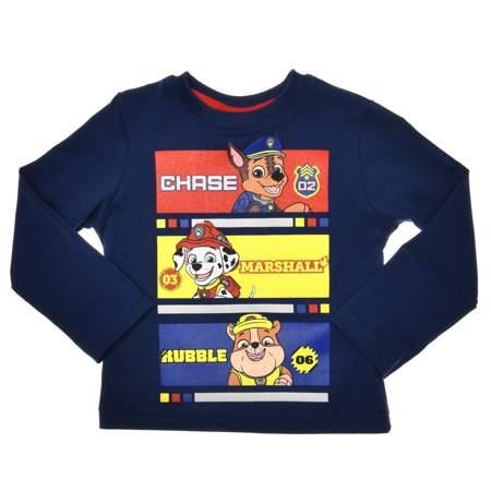 Bluzka dla dzieci z postaciami z bajki Psi Patrol