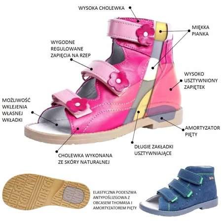 Buty profilaktyczne dla dzieci Dawid 1043