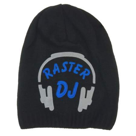 Czapka dziecięca DJ Raster Czarny