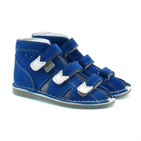 Dziecięce buty profilaktyczne Danielki S104/S114 Blue