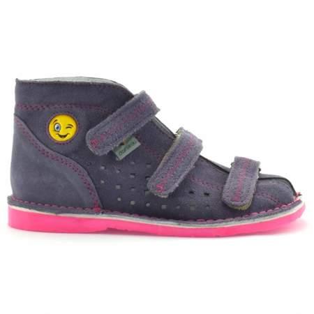 Dziecięce buty profilaktyczne Danielki T105E/115E Wrzos