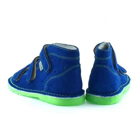 Dziecięce buty profilaktyczne Danielki TX105/115 Blue Fluoz