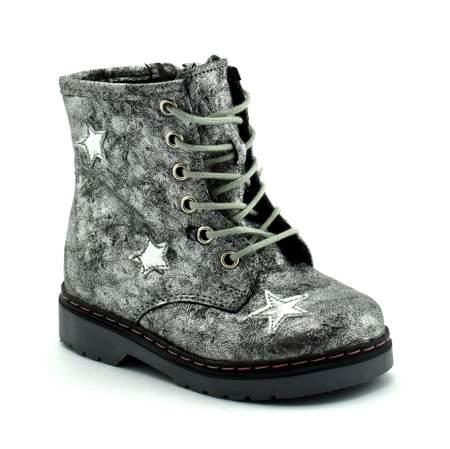 Dziecięce buty zimowe Kornecki 06216 Srebrne