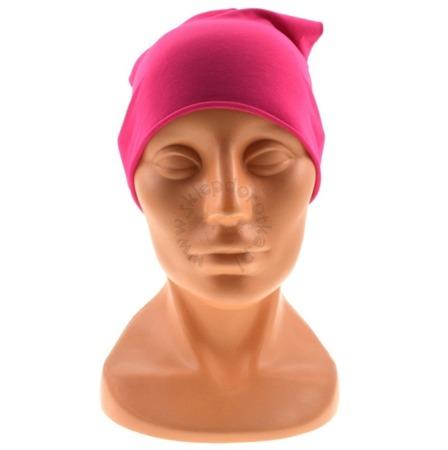 Dziewczęca gładka czapka