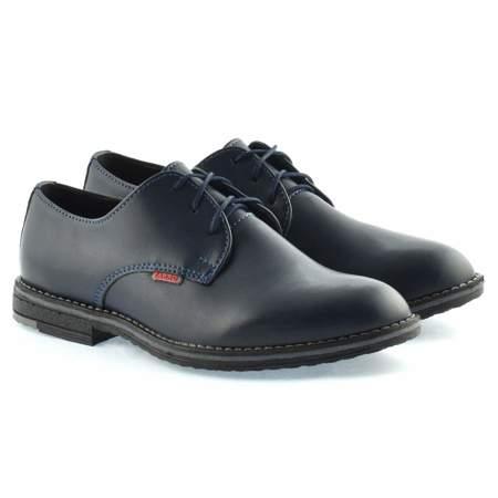 Granatowe buty komunijne dla chłopca Zarro 130/02