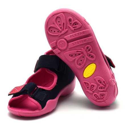 Kapcie sandałki dziecięce Befado 242P056 Papi