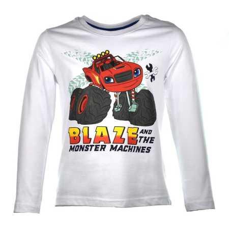 Piżama dziecięca Blaze i Mega Maszyny Blue