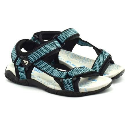 Sandały dla młodzieży American Club RL1717 Blue