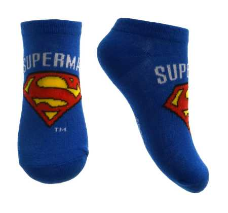 Stopki dziecięce Superman Granatowe