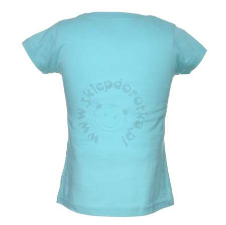 T-shirt dziecięcy z wizerunkiem bohaterów bajki Trolls